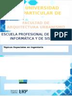 Definición de ERP