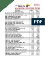 Octubre 4 Listas General Clientes