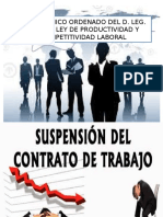 Exposicion Suspension de Trabajo