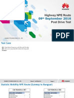 09092016 Report NPE Highway Pre Drive Test