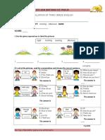 Evaluation of Third Grade English