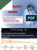 arthrologi