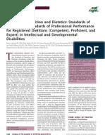 Academy Ofnutritionanddietetic-standards of Practice of Professionalperformance2
