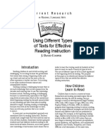 004.0929_TEXT_Using Different Types of Texts for Effective Reading Instruction