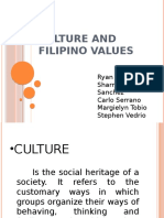 G1. Culture & Filipino Values