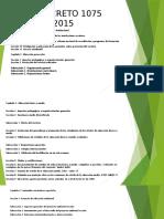 Expo Decreto 1075