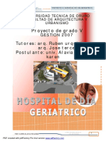 Hospital de Dia Geriatrico