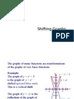 Shifting Graphs