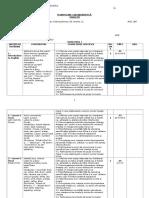 Planificare Calendaristica Cl I 2015-2016