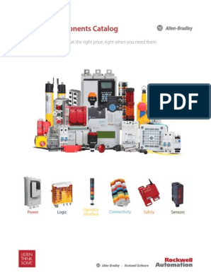 Catalogo automatizacion rockwell.pdf | Relay | Fuse (Electrical) on