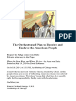 The Orchestrated Plan to Deceive and Enslave the American People PDF