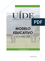 Modelo Educativo Pedagogico
