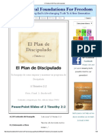 7II Timoteo 2_2 El Plan de Discipulado