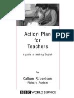 Action plan for teaching eng