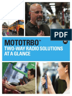 Mototrbo Solutions at a Glance
