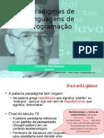 Paradigmas de Linguagens de Programação - Aula #1