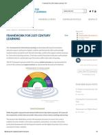 Framework for 21st Century Learning - P21