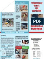 Construction Ergonomics Knees