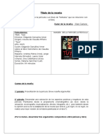 Reseña Cinematográfica TUYA - Iñaki Carlone