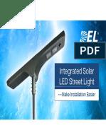DEL Solar LED Street Light Presentation