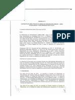 Nueva adenda al fideicomiso para la pasarela aéra del bypass 28 de julio