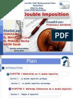 La Double Imposition PPT