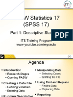 SPSS statistics help - how to use SPSS
