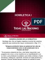 Homiletica I
