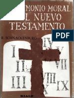 El Testimonio Moral Del Nuevo Testamento - Schnackenburg, Rudolf