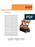 Soil Preparation Equipment - Multi Disc Harrow