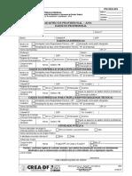 FM-DDA 054 - Cadastro Profissional Vr07