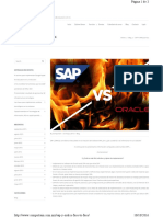 Sap vs Oracle Facetoface