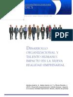 Articulo - Desarrollo Organizacional Talento Humano