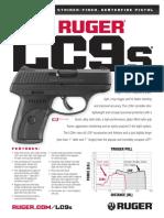Ruger LC9s Pistol Specs