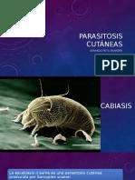 Parasitosis cutáneas