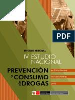 Estudio Regional de Consumo de Drogas de Escolares- Devida- 2012