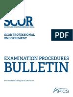 Scor p Bulletin
