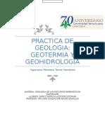 Reporte Geotermia y Geohidrologia