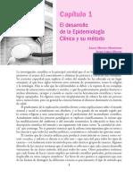 Capítulo 1 El Desarrollo de La Epidemiología Clínica y Su Método