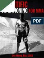Scientific Conditioning for MMA