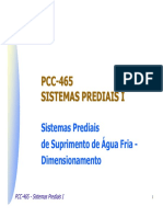 Água fria - Dimensionamento.pdf
