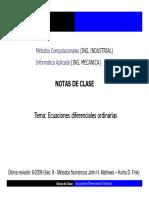 Notas de Clase EDO
