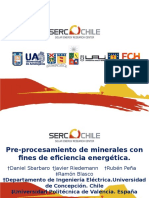 Pre Procesamiento de Minerales Con Fines de Eficiencia Energética Rubén Peña