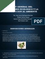 Ley General Del Equilibrio Ecologico y La Proteccion