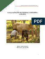 Concentración de Tierras y Contrarreforma Agraria EGG