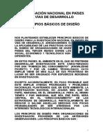 Investigacion Nacional en Paises en Vias de Desarrollo- Presentacion Bioetica