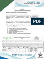 Actividad de Aprendizaje Unidad 2- Planeacion y Programacion de Auditorias.