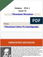 Sesion 7-2016-1 Vibracion Libre No Amortiguada