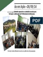 Cartaz Do II Educação Em Ação