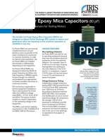 Iris Power Epoxy Mica Capacitors (80 pF)